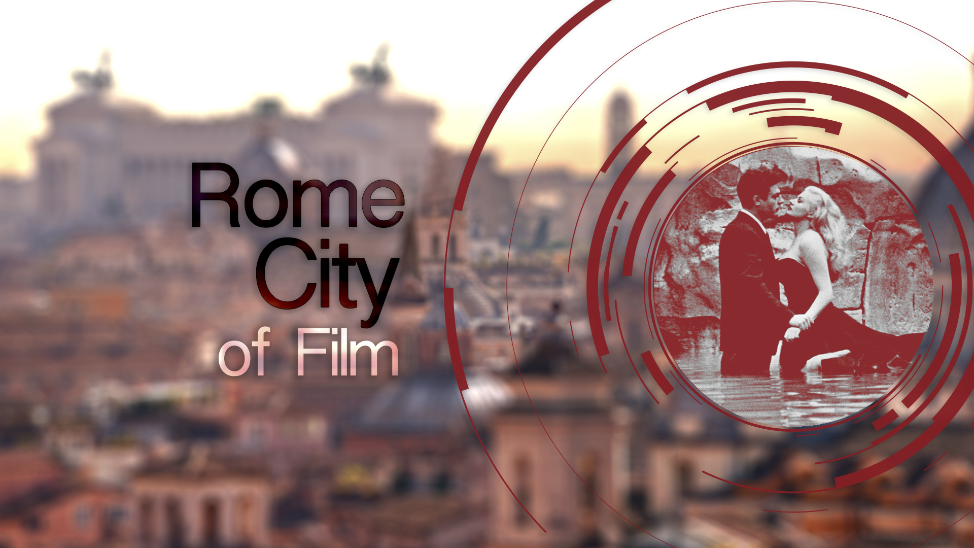 Rome City of Film (Bianco e nero)2 copia