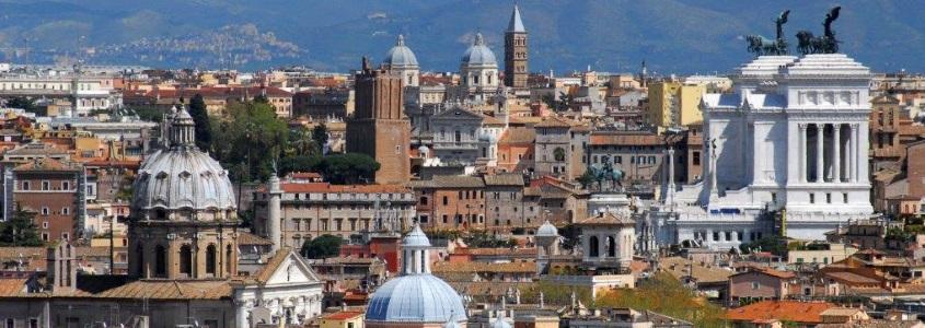 panorama_veduta-dal-gianicolo-verso-il-vittoriano_fausto-quintavalle